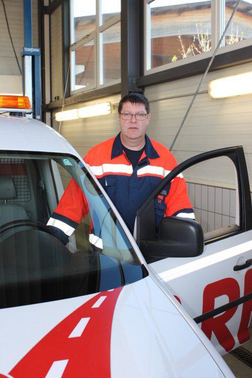 Pannenfahrer Markus Sueß betreut die Arbö-Mitglieder im Oberland. Gms