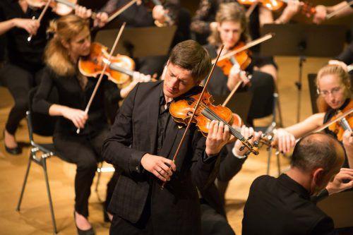 Pawel Zalejski ist auch SOV-Konzertmeister. Foto: Wohlgenannt
