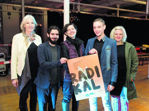 Petra Künzler-Staudinger, Marcel P. Hintner, Brigitte Walk, Jasy Mustedanagic und Nicole Wehinger. Fotos: sie