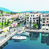 Luxus in Porto Montenegro