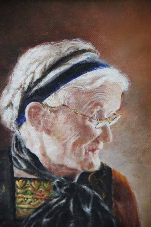 Porträt Ilga Feuerstein.
