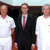 Arno Martin neuer Primar am Dornbirner Spital