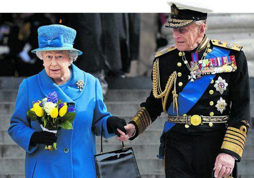 """Prinz Philip ist seit der Krönung von Queen Elizabeth II im Jahr 1953 """"der Mann an der Seite der Königin"""". AFP"""