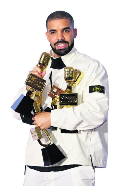 Rapper Drake sahnte 13 Preise ab.
