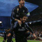 Real folgt Juve ins Endspiel in der Königsklasse
