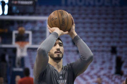 Reisepass annulliert: NBA-Basketballer Enes Kanter. Foto: ap