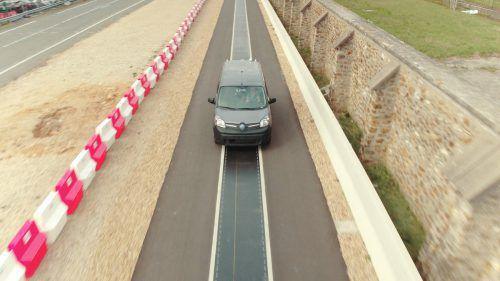 Renault testet das dynamische induktive Laden. Foto: Werk
