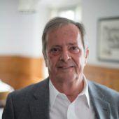 """<p class=""""caption"""">Rudolf Grabher aus Lustenau: Er ist nach wie vor als Unternehmer und Chef der """"11er""""-Firmengruppe tätig, hat den Ehrenschutz für den Jubiläumsball übernommen.</p>"""