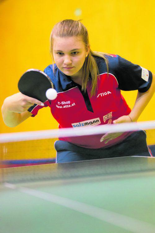 Sarah Ender holte drei Goldene bei den U-15-Titelkämpfen. hartinger