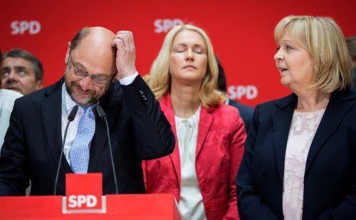 Schulz musste eine weitere Schlappe hinnehmen. Foto: dpa