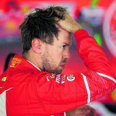 Vettel konnte nicht mithalten