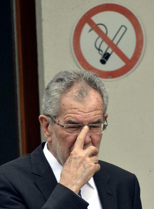 Seit 26. Jänner ist Alexander Van der Bellen Bundespräsident. Seither hat er nur einmal für Aufregung gesorgt. Foto:APA