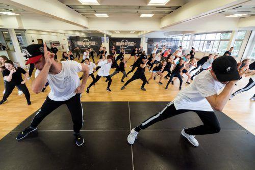 Seit zehn Jahren bildet der Verein hauptsächlich Jugendliche zu Tänzern aus. Fotos: move4style