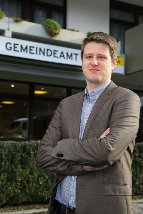 Seit zwei Jahren ist Josef Lechthaler als Bürgermeister von St. Gallenkirch tätig. Foto: VN/B. Hofmeister