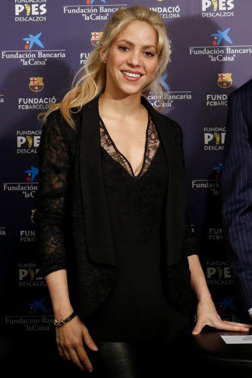 Shakira veröffentlicht nach drei Jahren ihr elftes Album. Foto: AFP