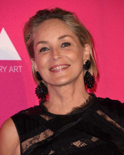 """Sharon Stone wurde als """"Mutter des Jahres"""" ausgezeichnet. AFP"""