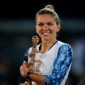 Simona Halep holte sich den 15. Tennistitel