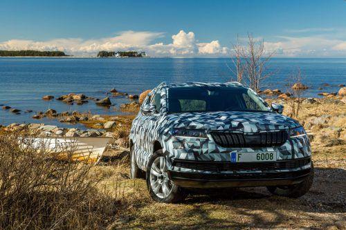 Škoda ersetzt den Yeti durch den Karoq. Die VN werden Ende Mai ausführlich über die Weltpremiere des Kompakt-SUV berichten.