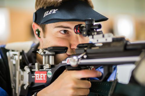 Thomas Mathis bestätigte beim Weltcup in München seine starke Leistung in der EM-Qualifikation. Foto: Steurer
