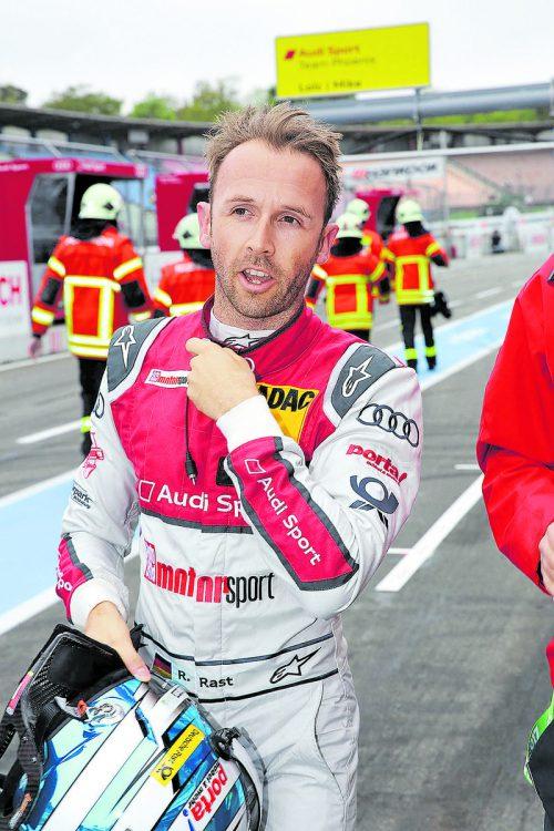 Toller Dritter am Nürburgring: DTM-Pilot René Rast.  Foto: noger