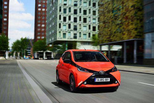 Toyota Aygo: Mit dem Kleinsten der Baureihen wurde die aktuelle Design-Linie der Marke eingeführt.