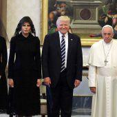 Trump besucht den Papst