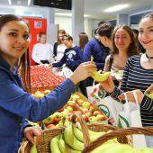 Gesunde Jause für Schüler der HAK Feldkirch