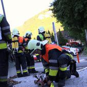Feldkirchs Wehren im Einsatz