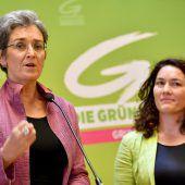 Zweistelliges Ergebnis als grünes Wahlziel