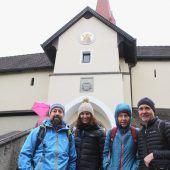 Wallfahrer pilgerten auf den Liebfrauenberg