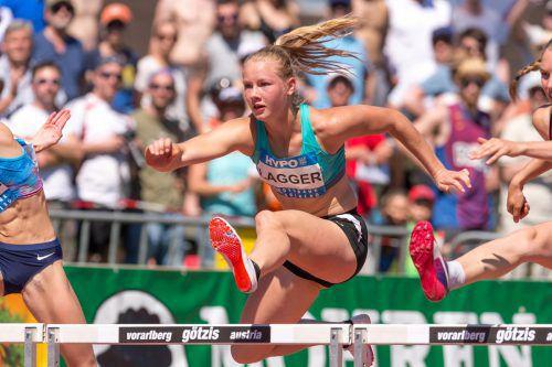 """Unter-20-Weltmeisterin Sarah Lagger lieferte die nächste Talentprobe ab und """"knackte"""" mit 6012 Punkten nach Ivona Dadic und Verena Preiner die 6000-Punkte-Marke."""