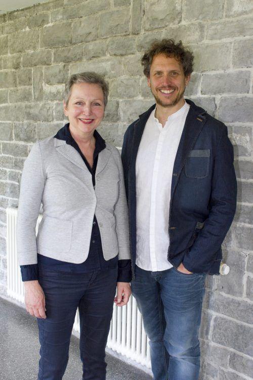 Ursula Spannberger und Präsident Martin Brischnik.