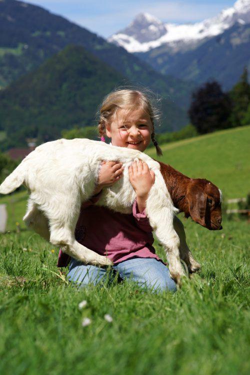 Vielen Kindern fehlt heute der Kontakt zum natürlichen Leben.