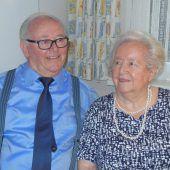 Gertrud und Lothar Rüdisser feiern diamantene Hochzeit