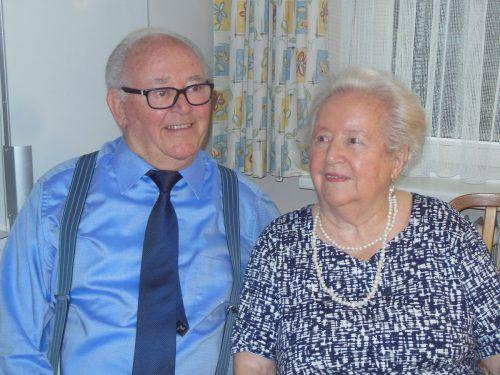 Gertrud und Lothar Rüdisser genießen jeden Tag und wünschen sich noch viele gemeinsame Jahre.