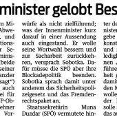 Der ÖVP bleibt nichts erspart