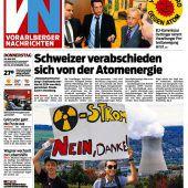 Schweizer Bürger sagen Ja zum Atomausstieg