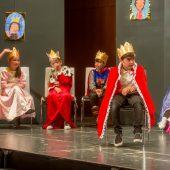 Kleine Stars bei großem Theaterfest