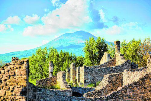 Vom Vulkan zerstörte Ruinen in Pompeji, in der Nähe von Neapel. Fotos: Shutterstock (5)