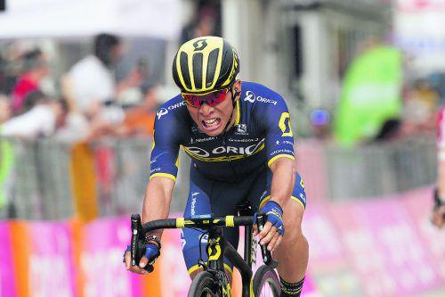 Zeigte seine Qualitäten im Sprint: Caleb Ewan.  Foto: apa