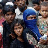 Humanitäre Krise nach Mora in Bangladesch