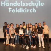 Wir, die 1as1 der Praxis-Handelsschule in Feldkirch