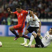 Chile mit Remis gegen DFB-Elf