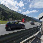 Drohender Stau am Arlbergpass