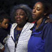 Schwangere Frau von Polizisten erschossen
