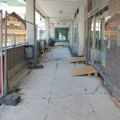 Zugang von Haus Piz Buin wird erneuert