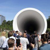 Testanlage  für Hyperloop