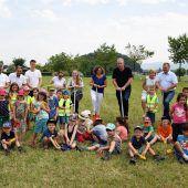 Götzis feiert Baustart für neuen Kindergarten