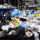 Griechen können nach Müllstreik aufatmen