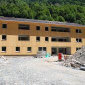 Sozialer Wohnbau in Silbertal im Zeitplan